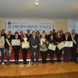 Bergamo ha un cuore grande L'Unci da 24 anni premia la bontà