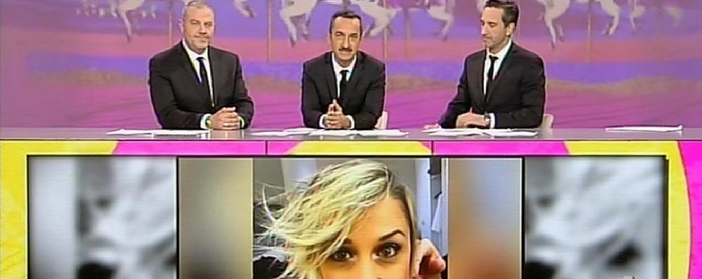 Le Iene salutano Nadia dalla tv «Ha chiesto di venire qui in diretta»