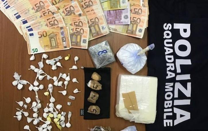 Polizia, sequestrato un chilo di cocaina  Arrestati due spacciatori a Torre de' Roveri