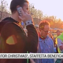 we run for christmas, staffetta benefica sabato e domenica