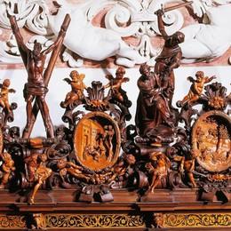 Le più belle sacrestie d'Italia in tv «Ad Alzano come nella Cappella Sistina»