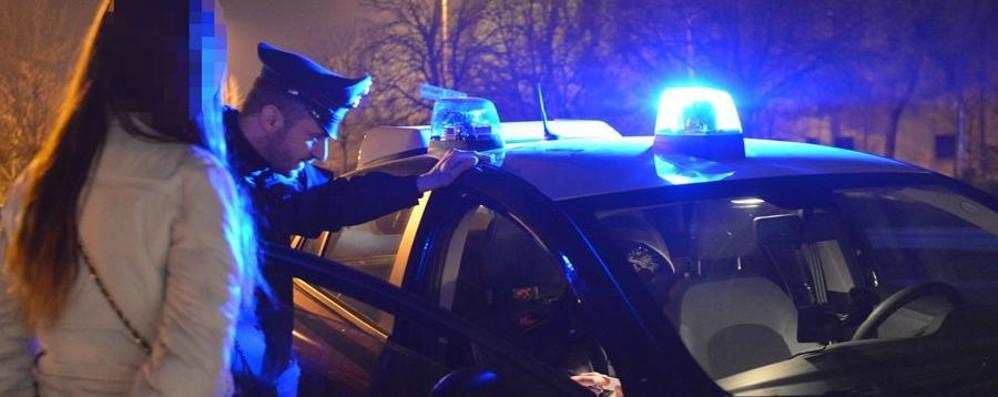 Bassa, operazione antiprostituzione   Controllate 16 donne e 42 automobilisti
