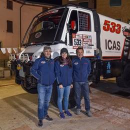 Dakar: Verzeletti saluta la Panda Correrà a gennaio con un  camion Unimog
