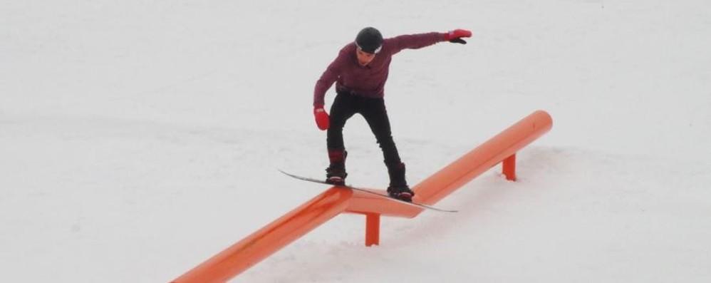 Foppolo apre un giorno in anticipo E nasce lo snowpark dei campioni