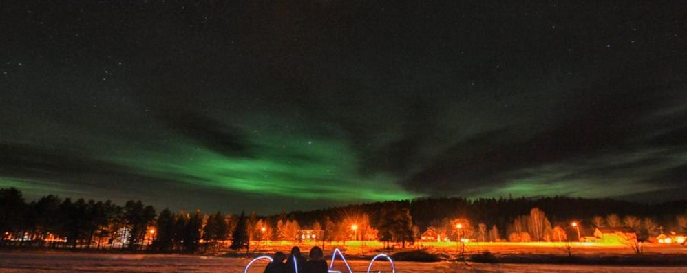 Viaggio nella Lapponia svedese Tra aurora boreale, renne e tanto ghiaccio
