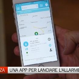 Sicurezza a Bergamo: una app per lanciare l'allarme