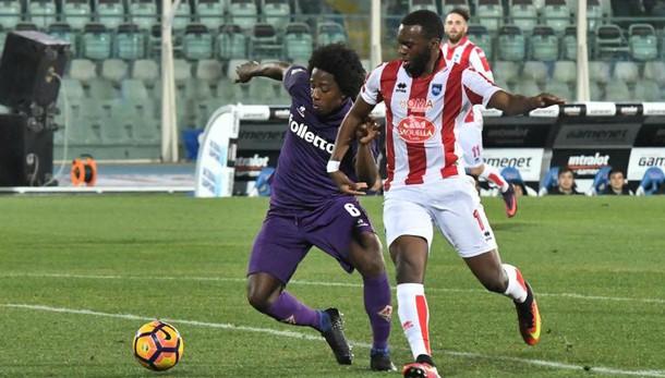 Serie A: Pescara-Fiorentina 1-2