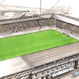 «Nuovo» stadio, lavori al via nel 2018  Progetto da 25 milioni - Ecco come sarà