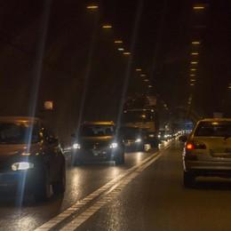 Val Seriana, incidente sulla superstrada Code in entrambe le direzioni