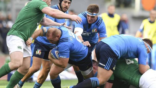 6 Nazioni: Italia-Irlanda 10-63