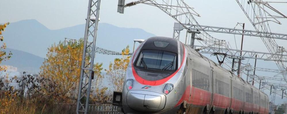 A Roma risparmiando mezz'ora In treno, passando per Treviglio