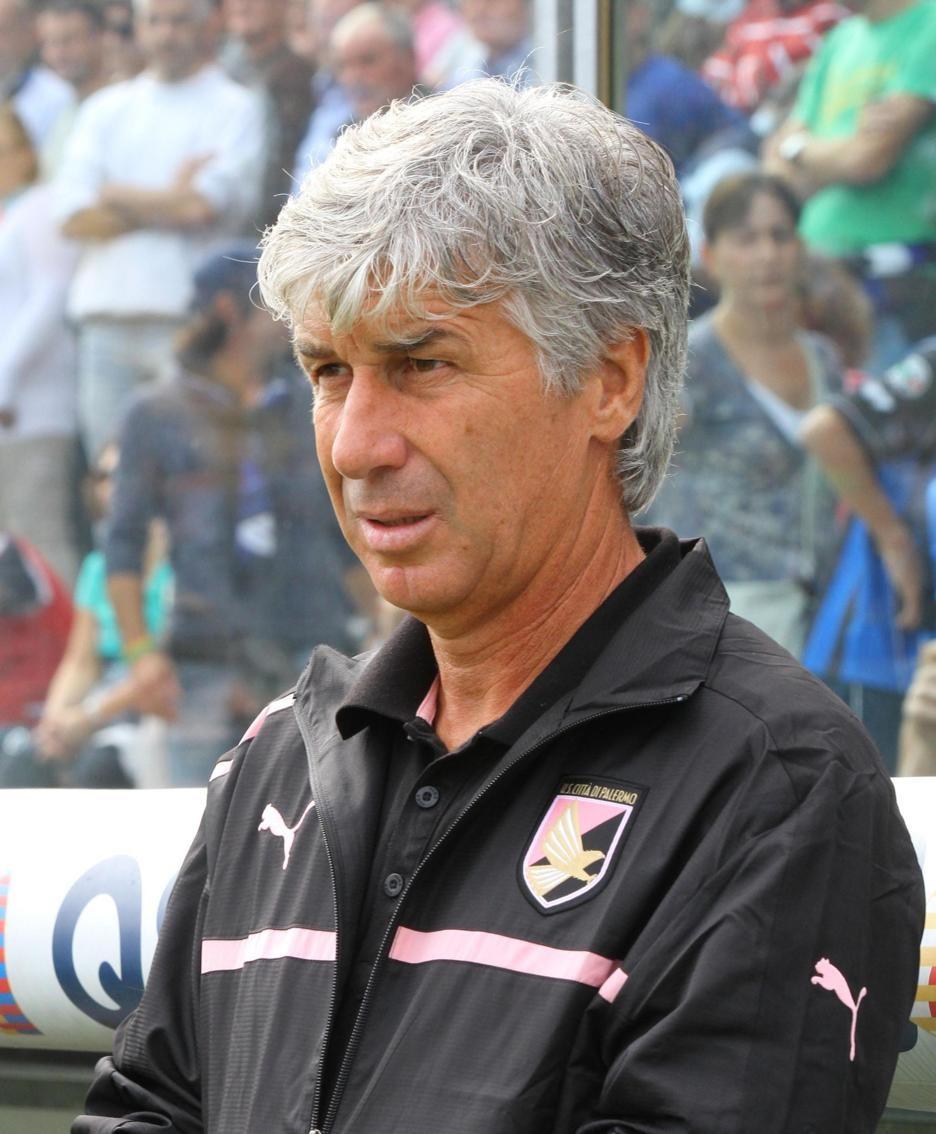 Gasperini quando allenava il Palermo
