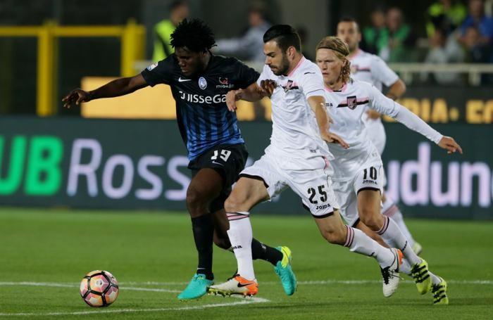 Kessie contro il Palermo