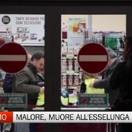 Malore, 30enne muore all'Esselunga di via Corridoni