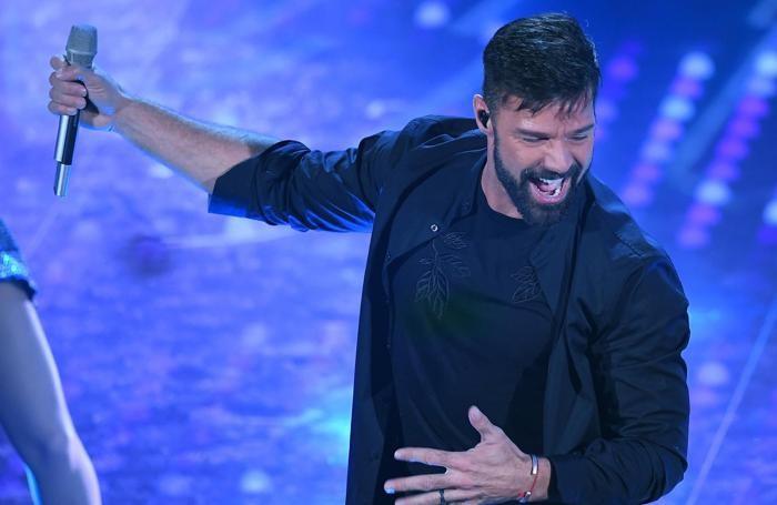 Ricky Martin ANSA/CLAUDIO ONORATI