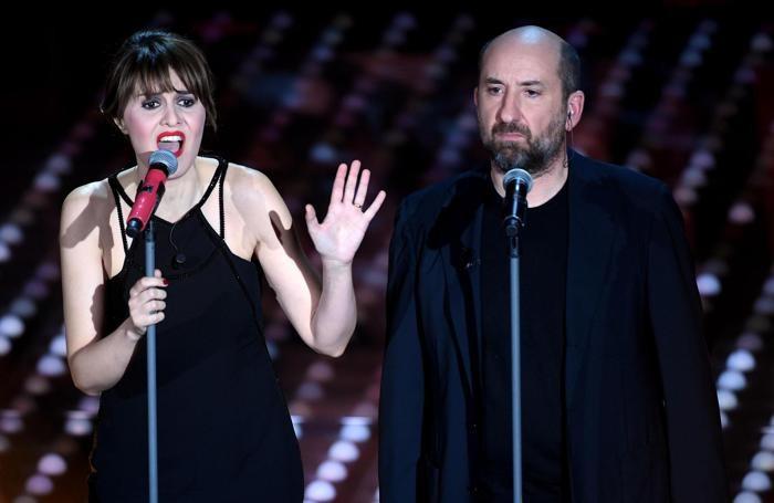 Paola Cortellesi and Antonio AlbaneseANSA/CLAUDIO ONORATI