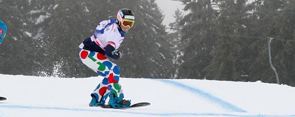 Snowboard, vince la Moioli Ora è terza in Coppa del mondo