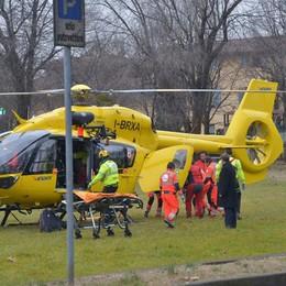 Cade durante una gara di motocross 12enne ricoverato al Papa Giovanni
