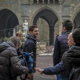 Gagliardini torna a Bergamo - Foto Attore per un giorno, racconta la città