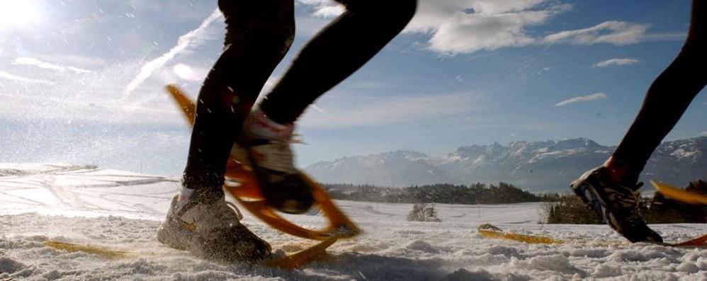 Di corsa, tra cibo e neve Una domenica per tutti