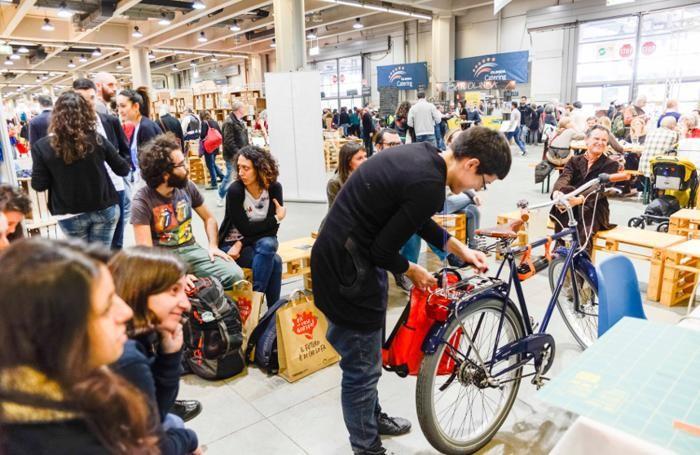 Fa' la cosa giusta! fiera nazionale del consumo critico e degli stili di vita sostenibili che Terre di Mezzo Eventi organizza dal 18 al 20 marzo a Fieramilanocity a Milano