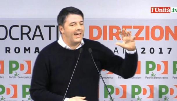 Renzi, rimettiamoci in cammino insieme