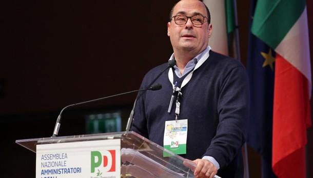Zingaretti, serve manifesto per unità Pd