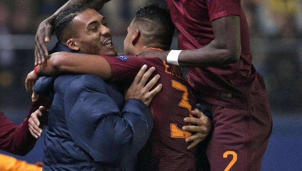 E. League: Roma travolge Villarreal 4-0