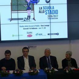 «Scuola allo stadio», l'Atalanta riparte E per l'Europa? «C'è Reggio Emilia»