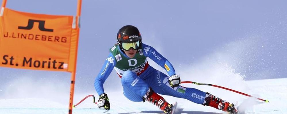 Ultima chiamata per Sofia Goggia A St. Moritz c'è il gigante femminile