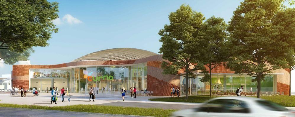 Curno, il centro commerciale si fa  grande  Nuovi ristoranti, bar e maxi parcheggio