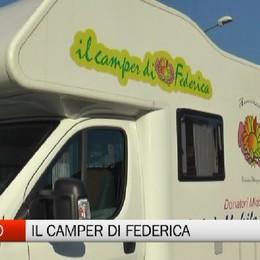 Val Seriana, il camper di Federica continua il suo viaggio