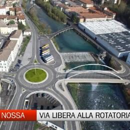 Valle Seriana, i fondi e il progetto della rotatoria di Ponte Nossa