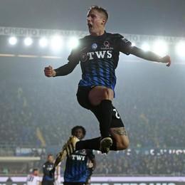 Con un gol di Conti battuto il Crotone L'Atalanta vola al quarto posto solitario