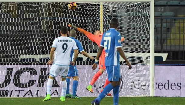 Serie A: Empoli-Lazio 1-2