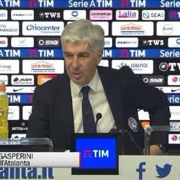Gasperini: Sono soddisfatto, ma ora pensiamo al Napoli