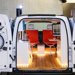 Hai bisogno di un ufficio... mobile? Ci pensa l'e-NV200 elettrico di Nissan