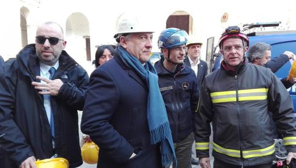 Sisma, Tajani, 1mld pronto in 2-3 mesi