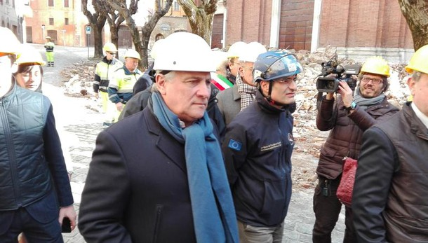 Tajani, a Norcia i 60 anni Trattati Roma