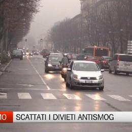 Bergamo, scattati i divieti del protocollo antismog