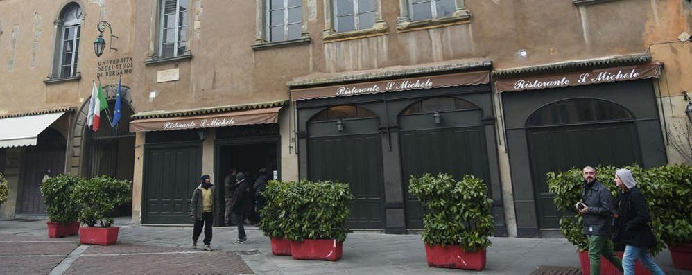 Città Alta, novità in Piazza Vecchia   Dopo 34 anni S. Michele cambia gestione