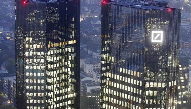 Deutsche Bank,rosso 2016 cala a 1,4 mld