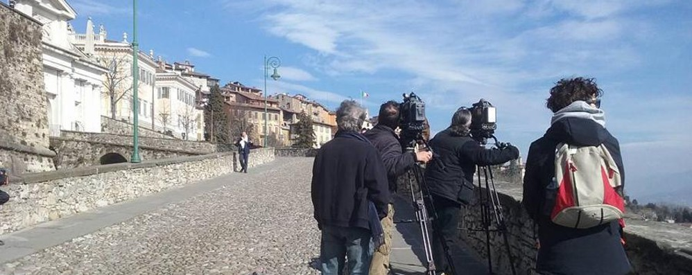 «Linea Verde», telecamere in città Rai 1 da Astino a Piazza Vecchia