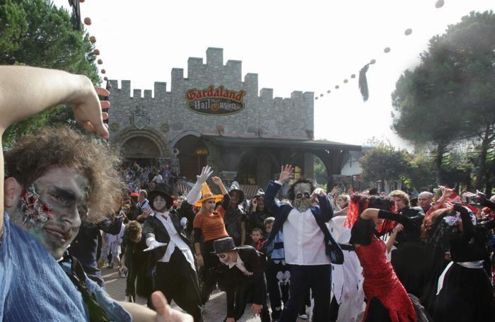 Verona - Parco di divertimenti Gardaland Magic festa di Halloween