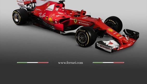 F1: la nuova Ferrari ha più rosso