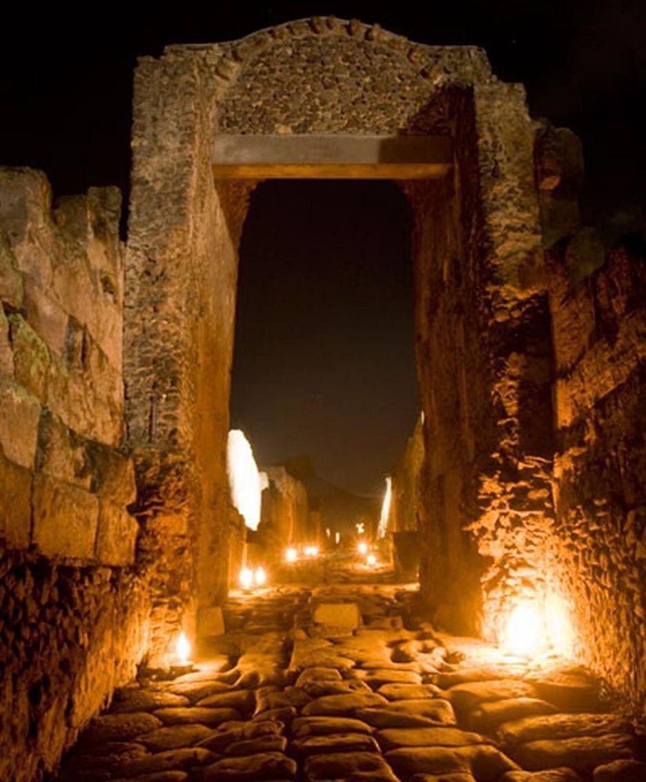 M'illumino di meno a Pompei