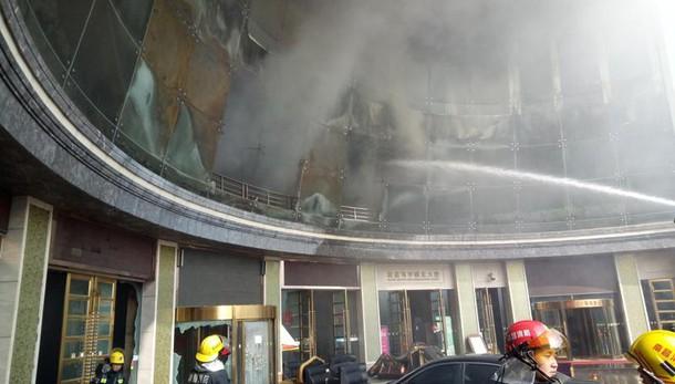 Cina: incendio hotel, 10 morti