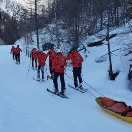 Gli alpini bergamaschi sempre in pista Nuova squadra per l'emergenza neve