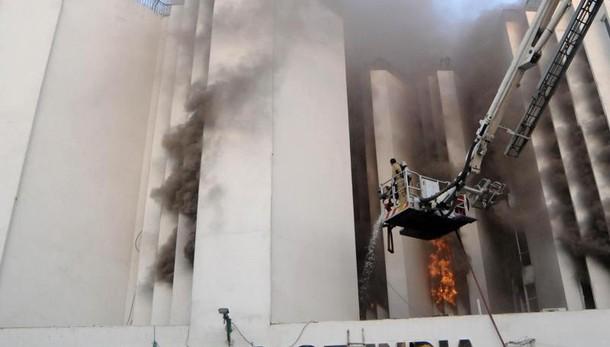 India: incendio in sede Times of India