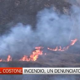 Ponte del Costone, incendio: 60enne denunciato